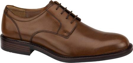 Men's Johnston & Murphy Tabor Plain Toe, Tan Calfskin, large, image 1
