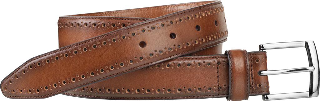 Men's Johnston & Murphy Perfed-Edge Belt, , large, image 1