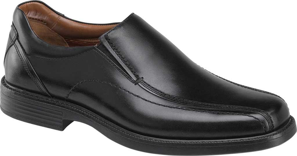 Men's Johnston & Murphy Stanton Run Off Venetian Loafer, Black Waterproof Leather, large, image 1