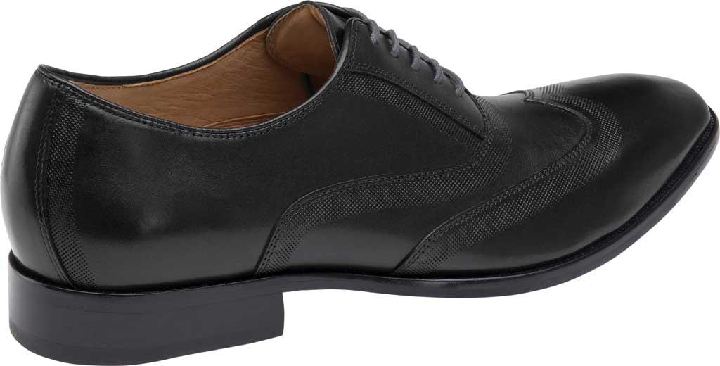 Men's Johnston & Murphy McClain Wingtip, Black Full Grain Leather, large, image 3