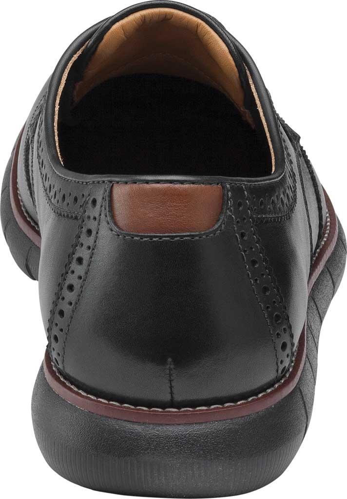 Men's Johnston & Murphy Holden Wingtip, Black/Black Full Grain Leather, large, image 4