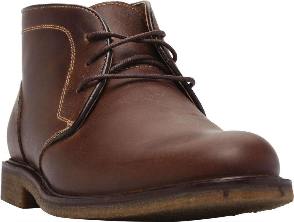 Men's Johnston & Murphy Locklard Chukka Boot, Tan Oiled Leather, large, image 1
