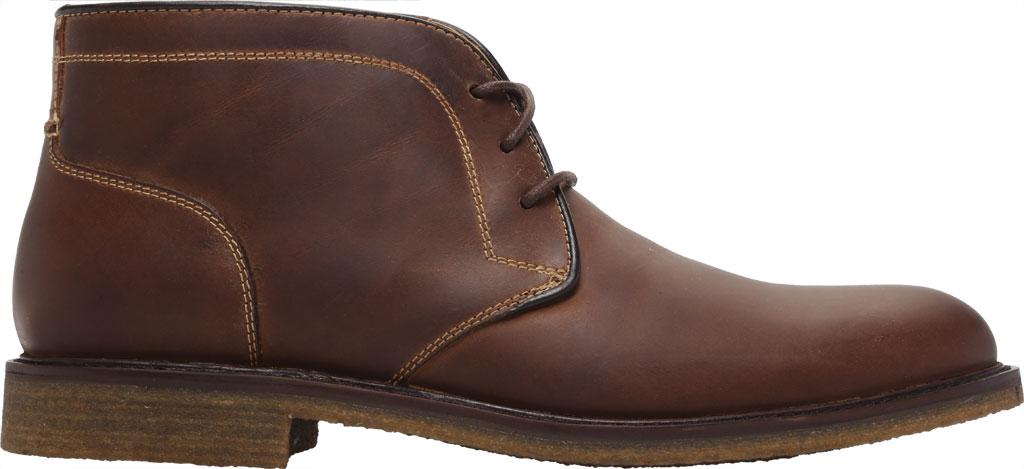 Men's Johnston & Murphy Locklard Chukka Boot, Tan Oiled Leather, large, image 2