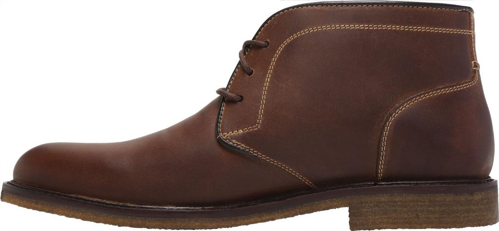 Men's Johnston & Murphy Locklard Chukka Boot, Tan Oiled Leather, large, image 3