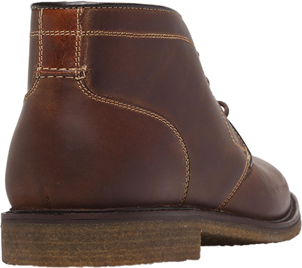 Men's Johnston & Murphy Locklard Chukka Boot, Tan Oiled Leather, large, image 4