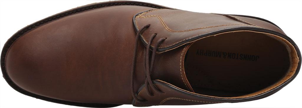 Men's Johnston & Murphy Locklard Chukka Boot, Tan Oiled Leather, large, image 5