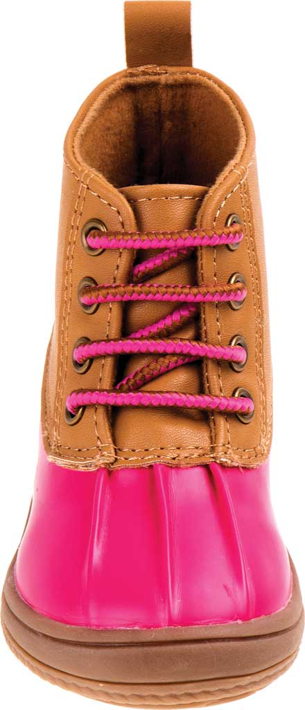 Infant Smart Step ST61078 Duck Boot, Fuchsia Patent/Tan, large, image 4
