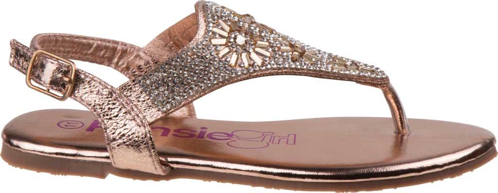 Girls' Kensie Girl KG81583M Thong Sandal, Champagne Synthetic, large, image 2
