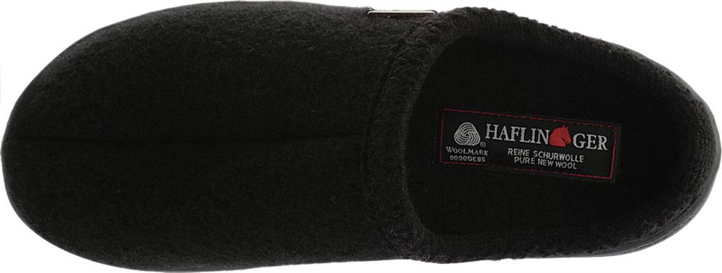 Haflinger AT Classic Hardsole Slipper, Black, large, image 5