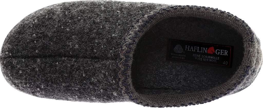 Haflinger ATB Closed Back Clog Slipper, Dark Grey Speckle, large, image 5