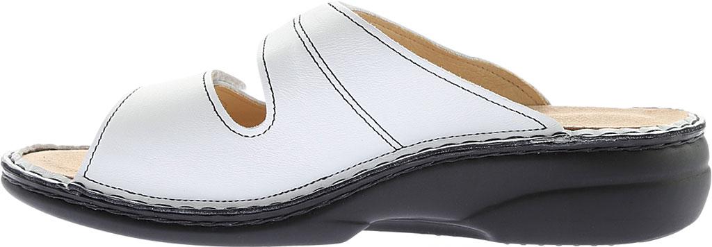 Women's Finn Comfort Sansibar Soft, White Nappa, large, image 3