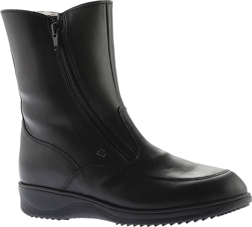 Women's Finn Comfort Minsk Winter Boot, Black Nappa Seda, large, image 1