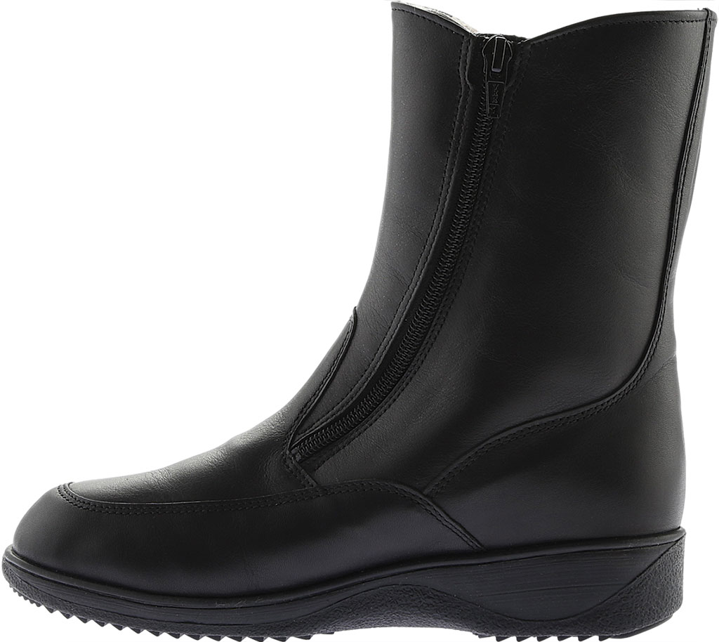 Women's Finn Comfort Minsk Winter Boot, Black Nappa Seda, large, image 3