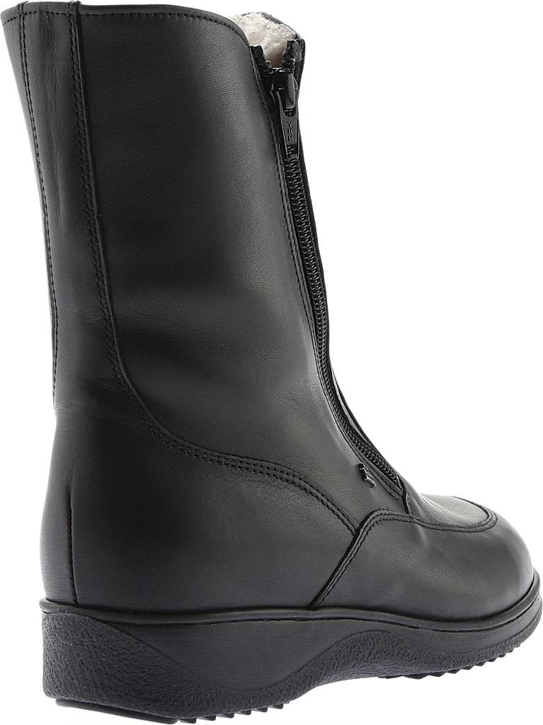 Women's Finn Comfort Minsk Winter Boot, Black Nappa Seda, large, image 4