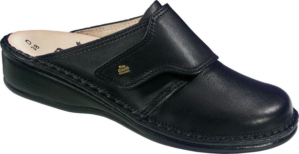 Women's Finn Comfort Aussee Soft, Black Nappa, large, image 1