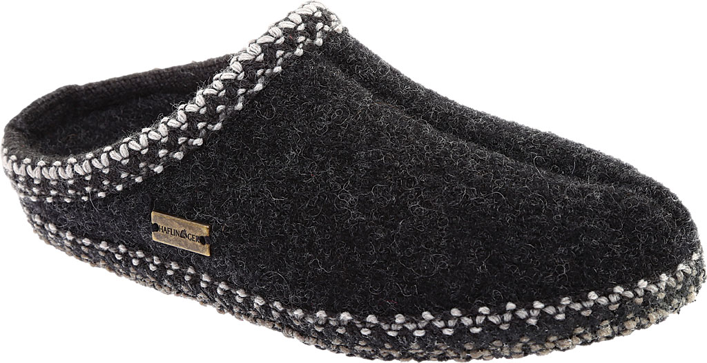 Haflinger AS Classic Slipper, Charcoal, large, image 1