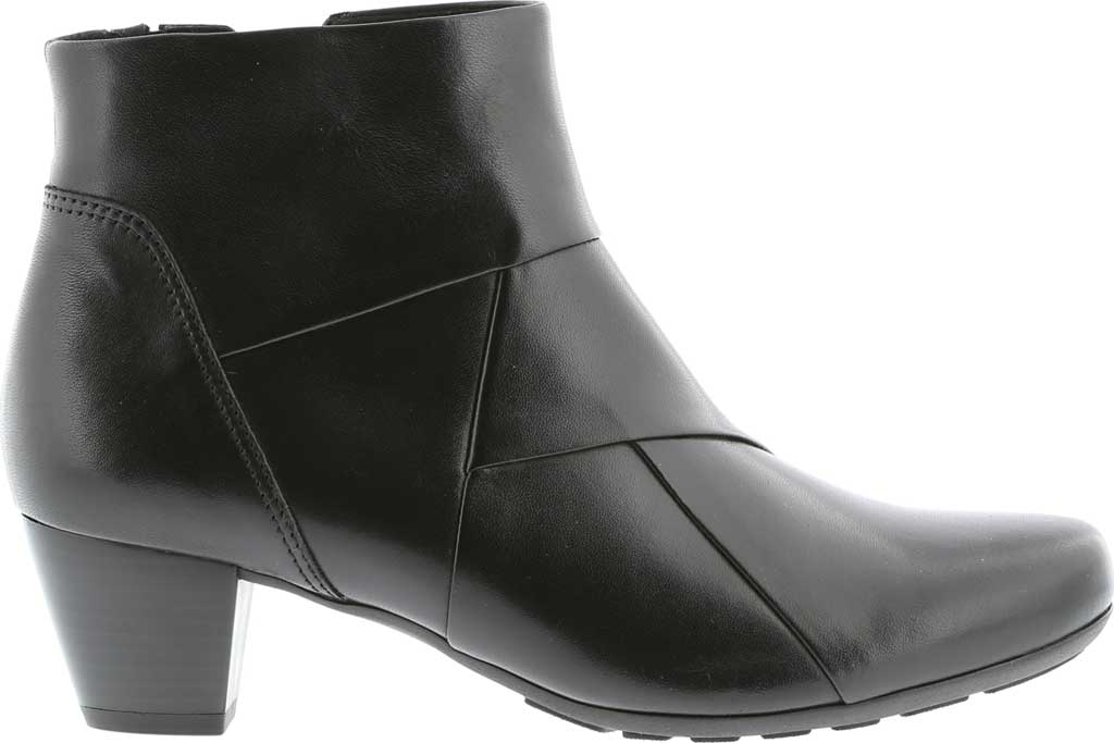 Women's Gabor 72-825 Bootie, Black Leather, large, image 1