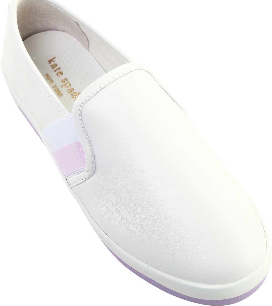 Women's Kate Spade Sandy Slip On Sneaker, Frozen Lilac Nappa Leather, large, image 5