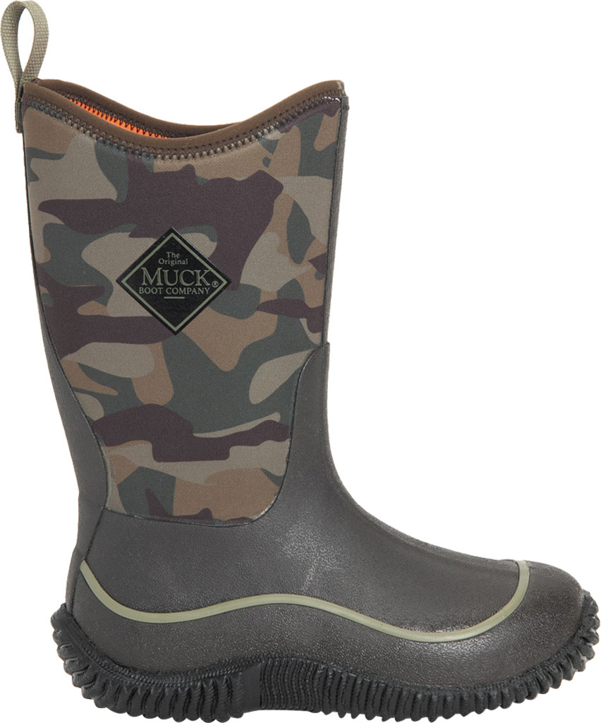 Children's Muck Boots Hale Camouflage Waterproof Boot, Camo, large, image 2