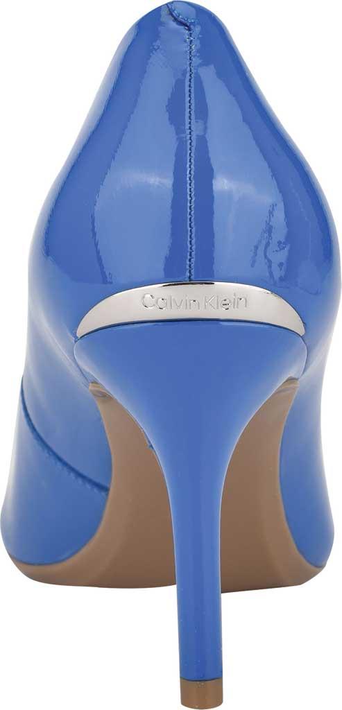 Women's Calvin Klein Gayle Stiletto Pump, Light Blue Patent Leather, large, image 4