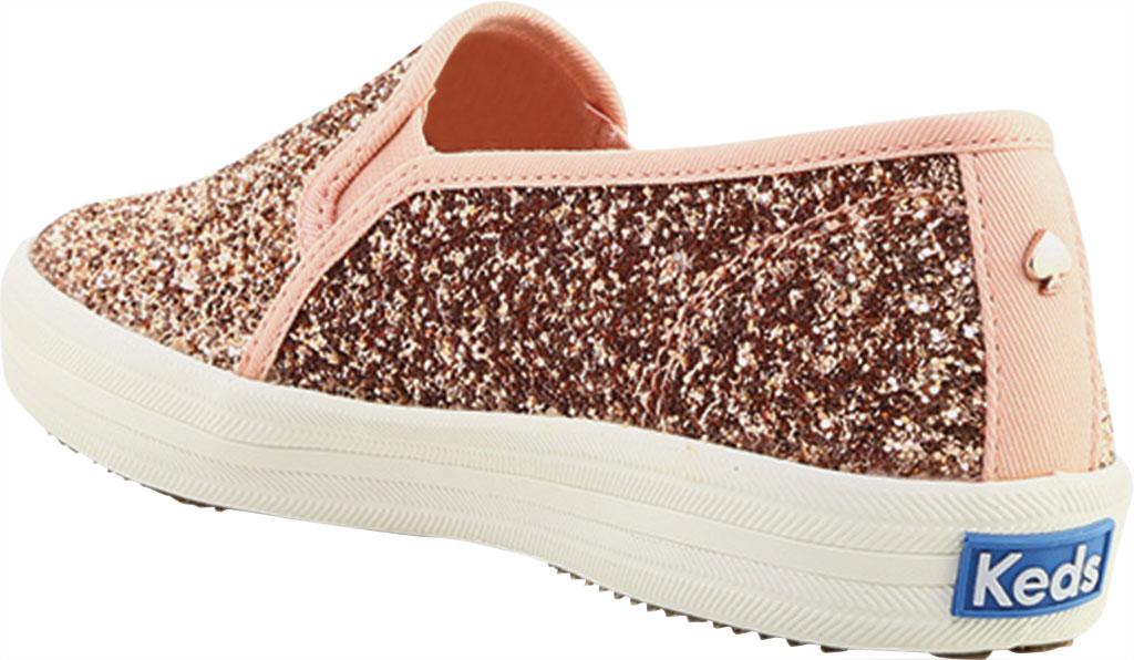 Women's keds Double Decker Glitter Sneaker, Rose Pink Glitter, large, image 4