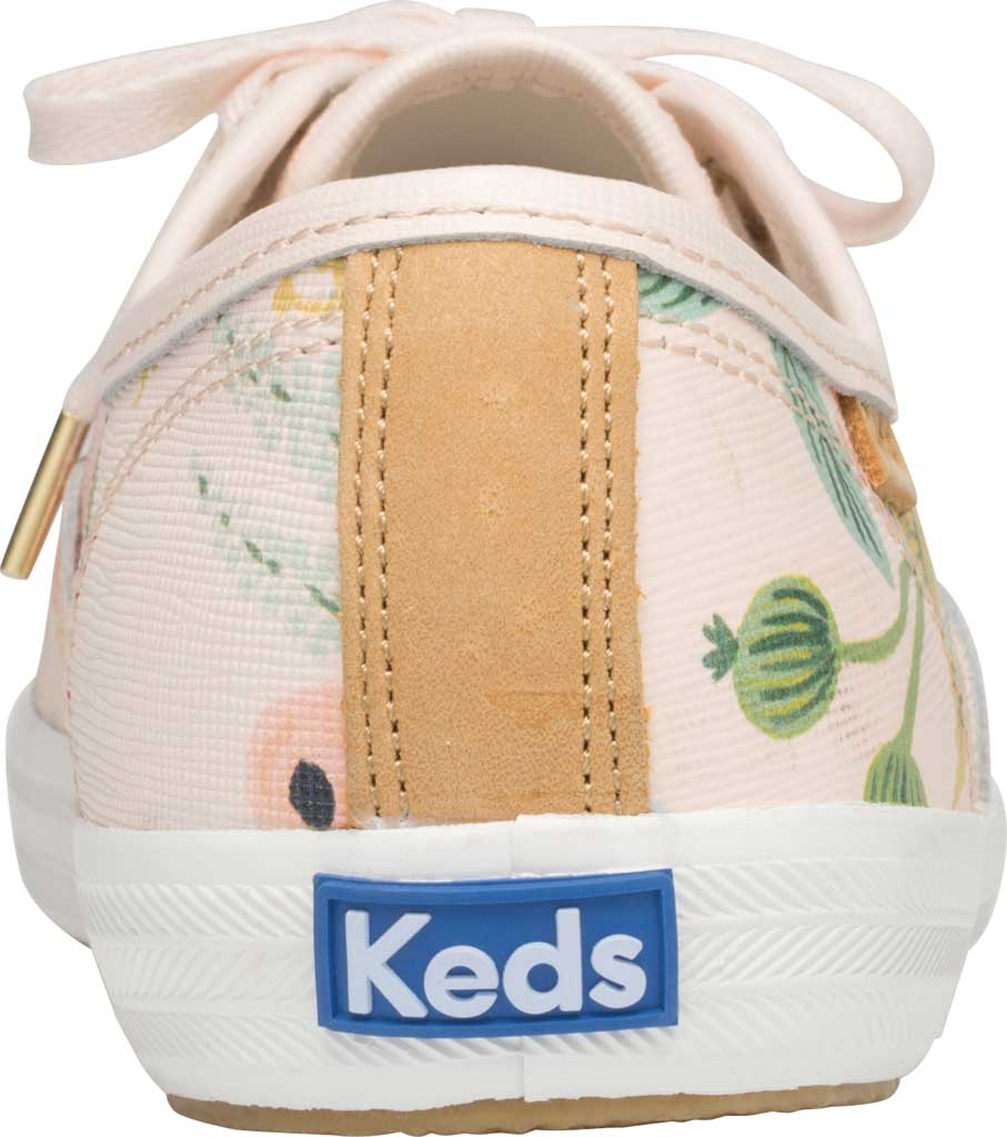 Women's Keds Champion Saffiano Sneaker, Pink Leather, large, image 3