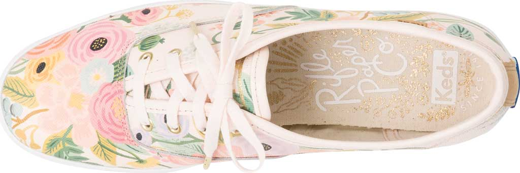 Women's Keds Champion Saffiano Sneaker, Pink Leather, large, image 4