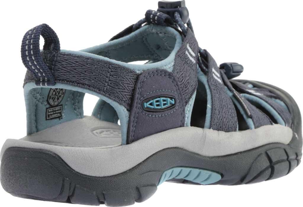 Women's KEEN Newport H2 Sandal, Navy/Smoke Blue, large, image 4