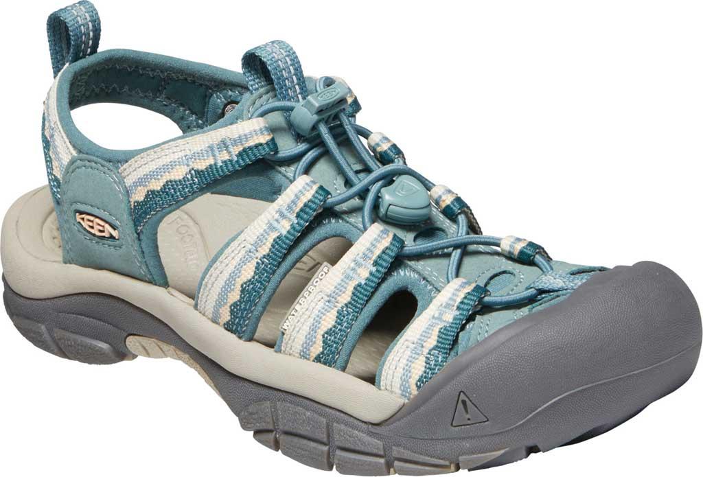 Women's KEEN Newport H2 Sandal, North Atlantic/Chinois Green, large, image 1