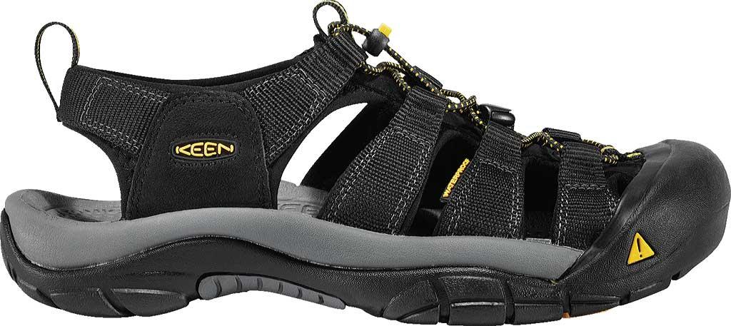 Men's KEEN Newport H2 Sandal, Navy/Gold Flame, large, image 2