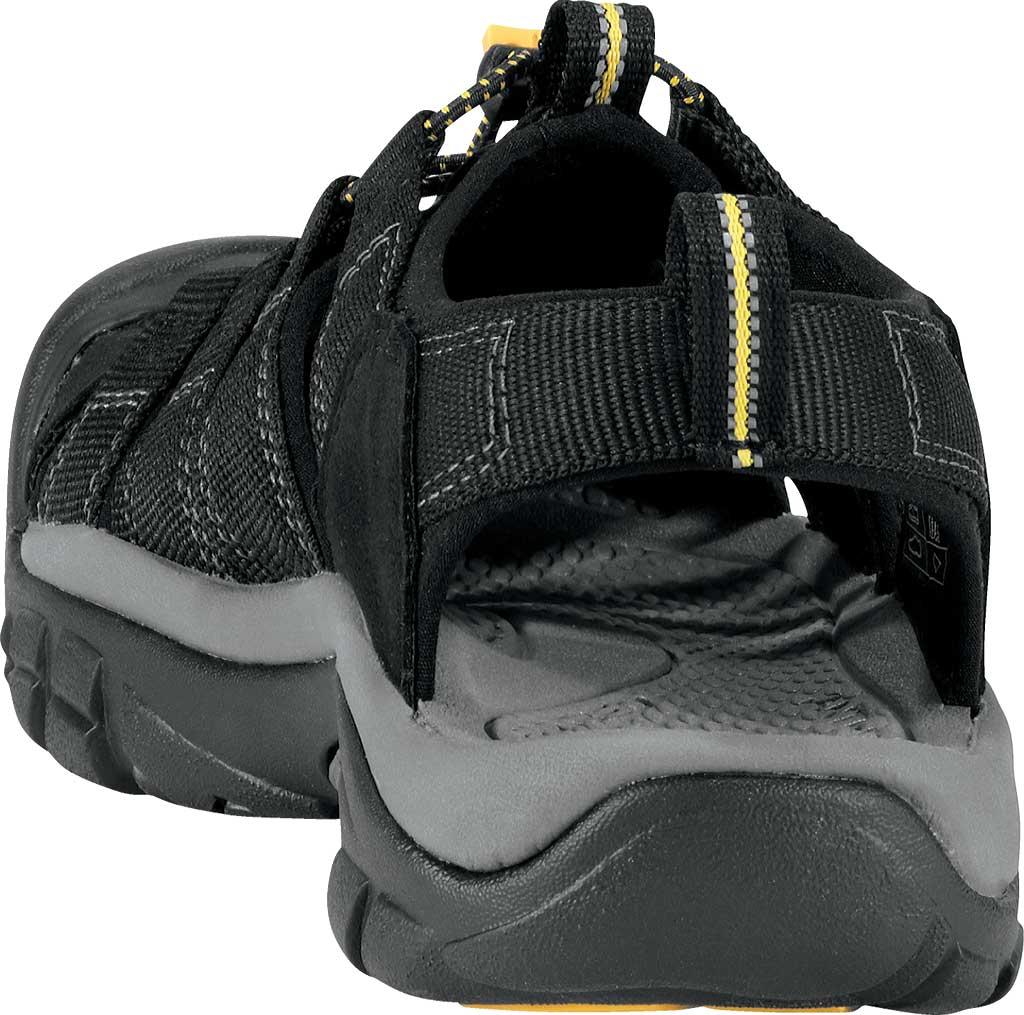 Men's KEEN Newport H2 Sandal, Black, large, image 5