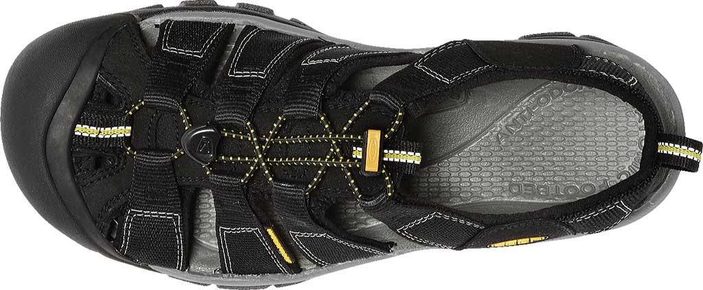 Men's KEEN Newport H2 Sandal, Black, large, image 6