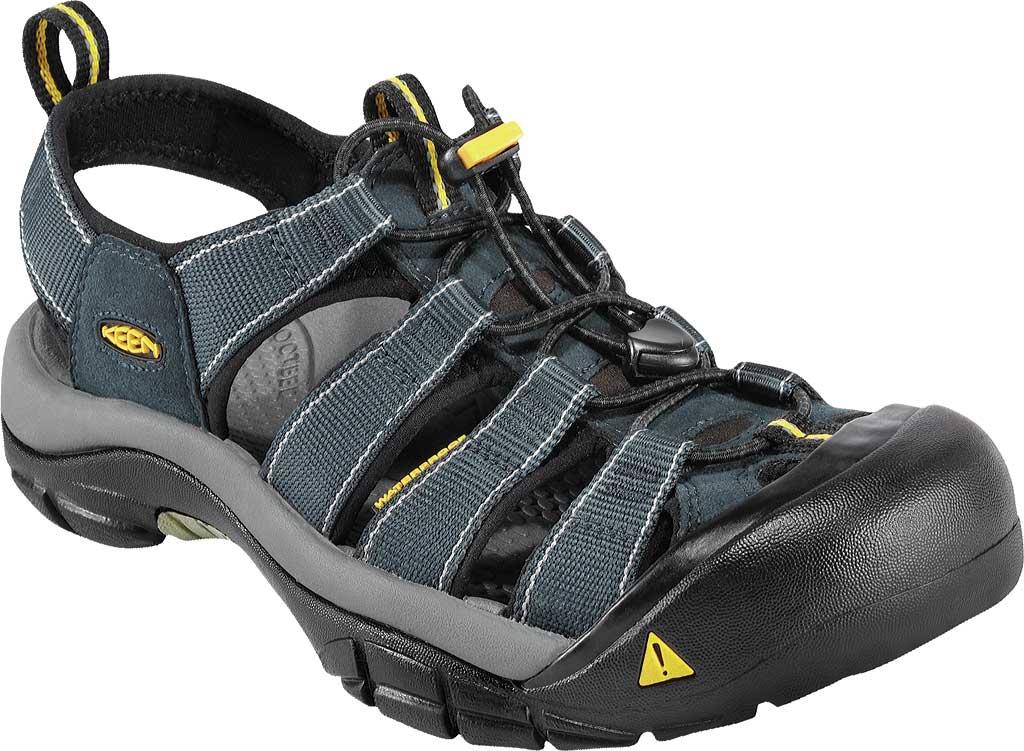 Men's Keen Newport H2 Sandal, Navy/Medium Gray, large, image 1