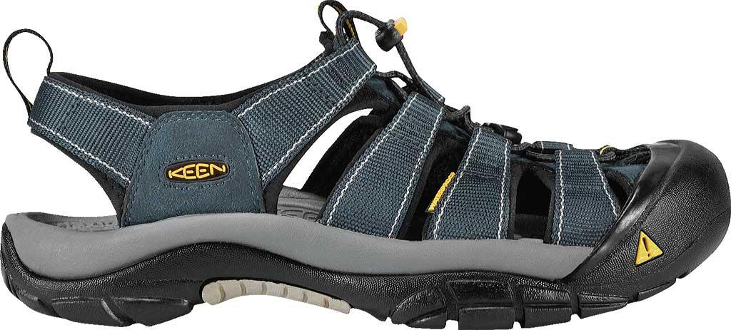 Men's Keen Newport H2 Sandal, Navy/Medium Gray, large, image 2