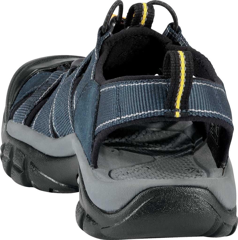 Men's Keen Newport H2 Sandal, Navy/Medium Gray, large, image 4