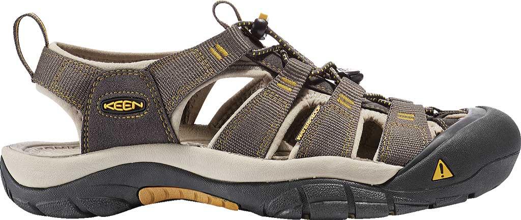 Men's Keen Newport H2 Sandal, Raven/Aluminum, large, image 2