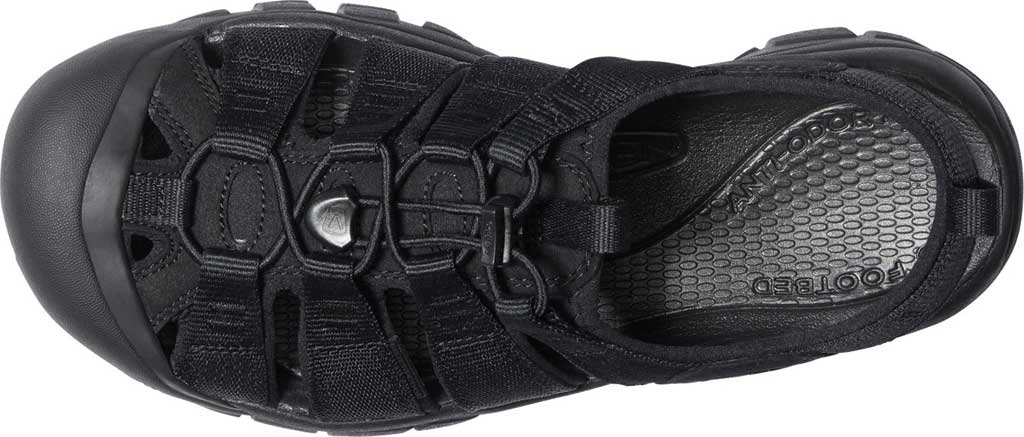 Men's KEEN Newport H2 Sandal, Triple Black, large, image 3