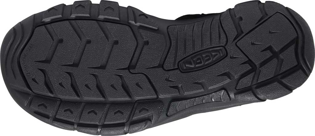 Men's KEEN Newport H2 Sandal, Triple Black, large, image 4