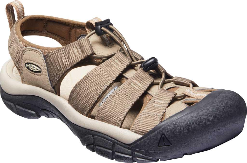 Men's KEEN Newport H2 Sandal, Brindle/Canteen, large, image 1