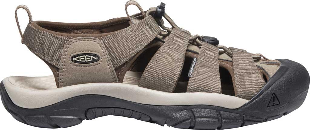 Men's KEEN Newport H2 Sandal, Brindle/Canteen, large, image 2