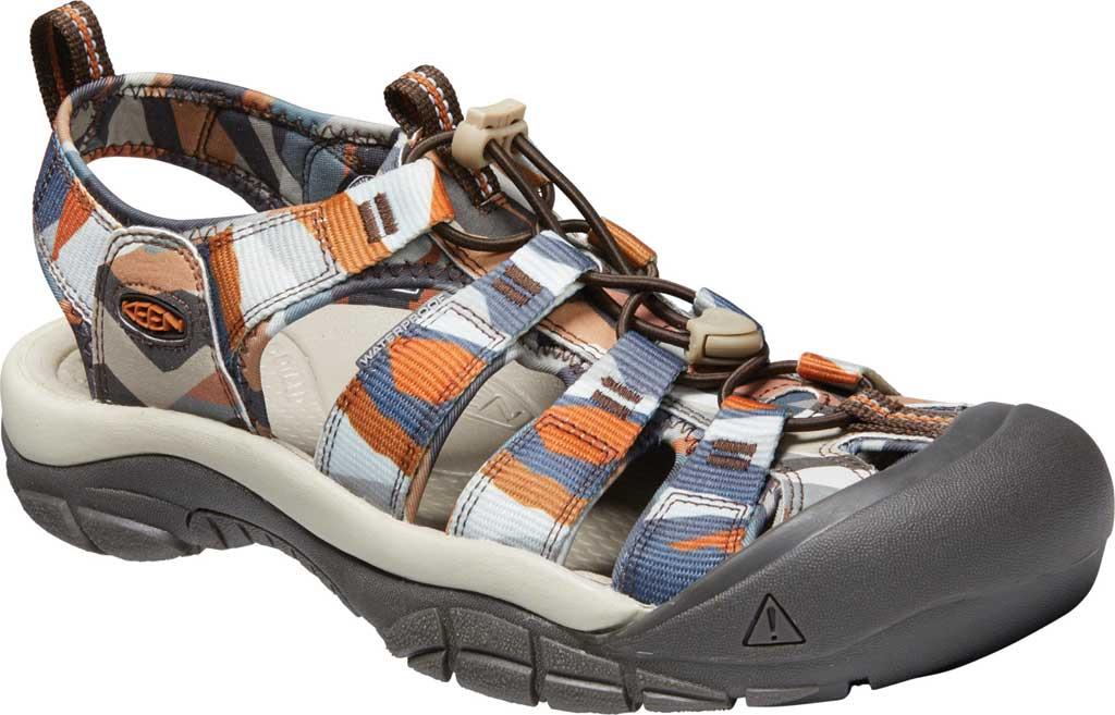 Men's KEEN Newport H2 Sandal, Brown Sugar/Multi, large, image 1
