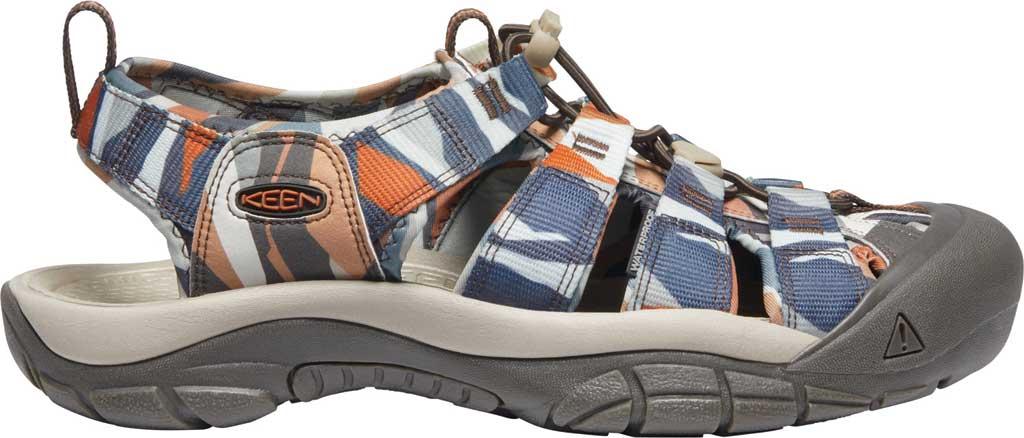 Men's KEEN Newport H2 Sandal, Brown Sugar/Multi, large, image 2