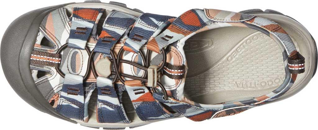 Men's KEEN Newport H2 Sandal, Brown Sugar/Multi, large, image 3