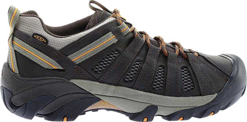 Men's KEEN Voyageur Hiking Shoe, Black Olive/Inca Gold, large, image 2