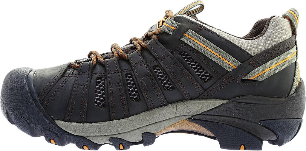 Men's KEEN Voyageur Hiking Shoe, Black Olive/Inca Gold, large, image 3