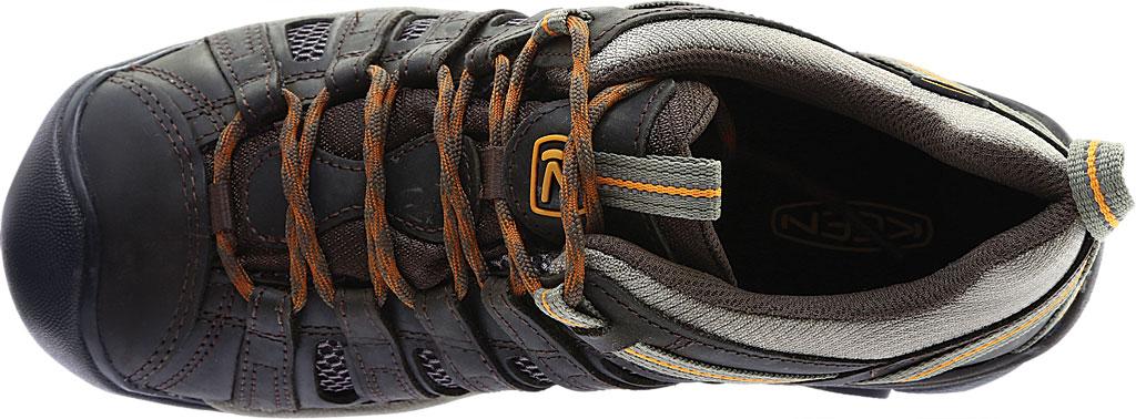 Men's KEEN Voyageur Hiking Shoe, Black Olive/Inca Gold, large, image 5