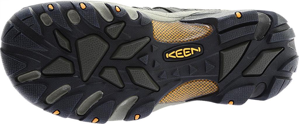 Men's KEEN Voyageur Hiking Shoe, Black Olive/Inca Gold, large, image 6