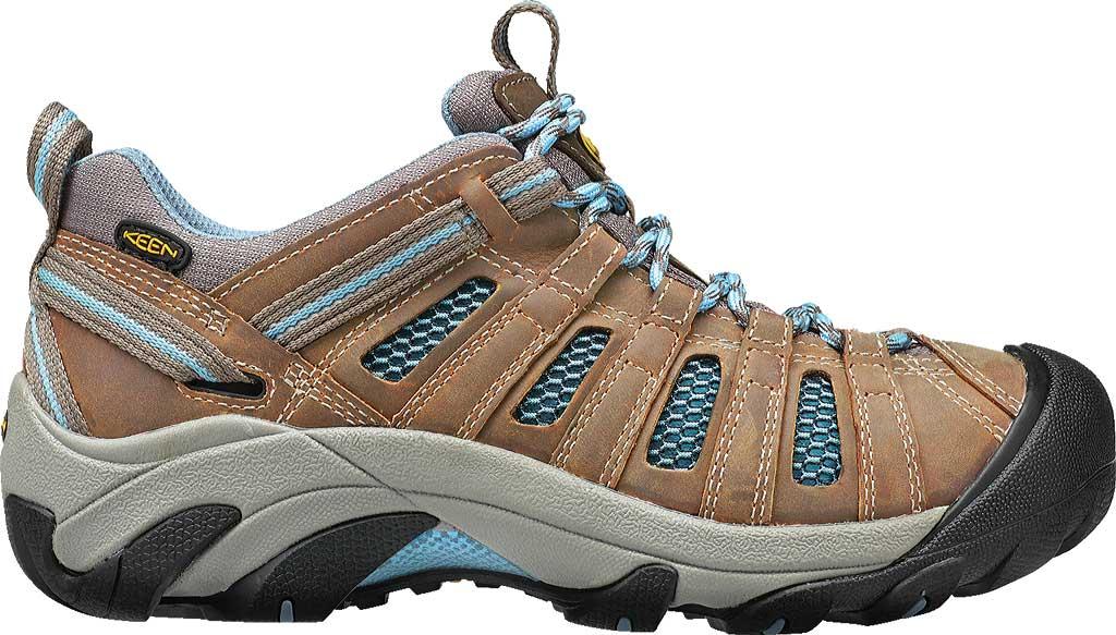 Women's Keen Voyageur Hiking Shoe, Brindle/Alaskan Blue, large, image 2