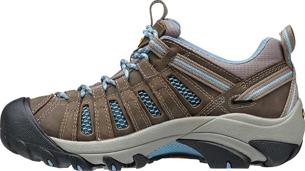 Women's Keen Voyageur Hiking Shoe, Brindle/Alaskan Blue, large, image 3