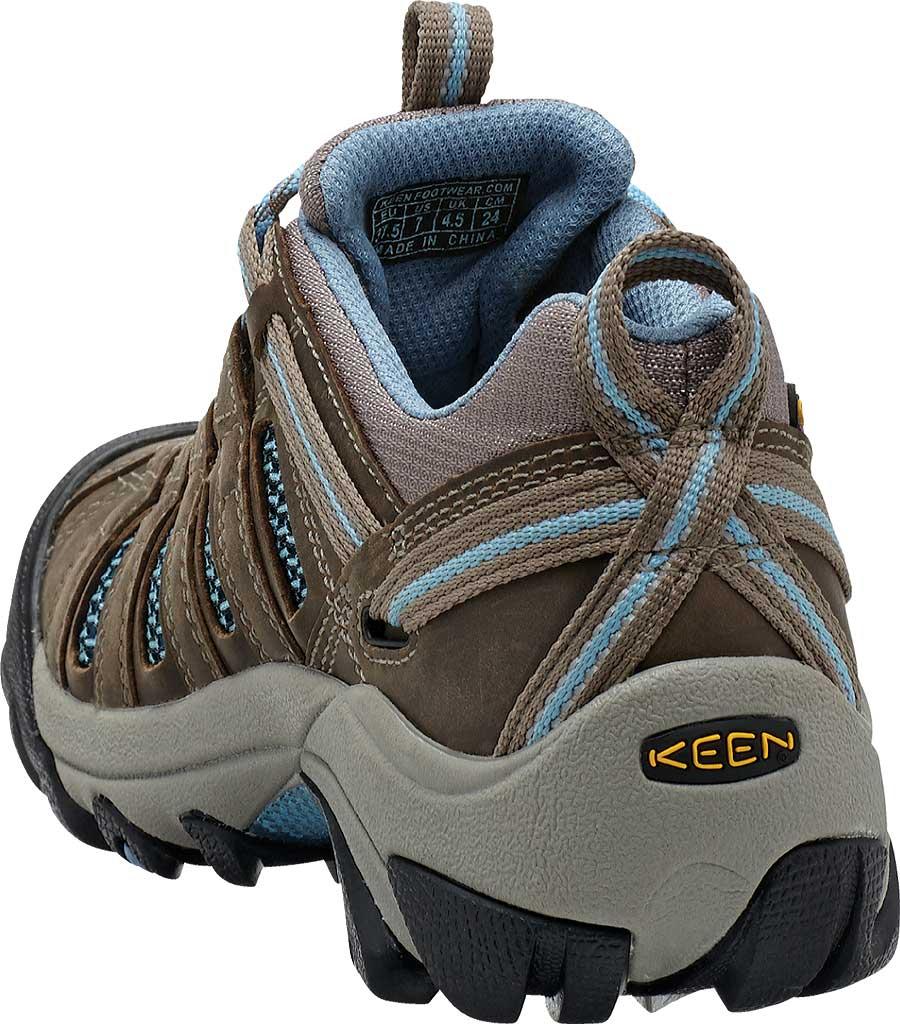 Women's Keen Voyageur Hiking Shoe, Brindle/Alaskan Blue, large, image 4